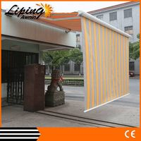 China cassete dual-roller awning