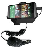 Car Mount Cradle with Hands Free for HTC ONE (M8)