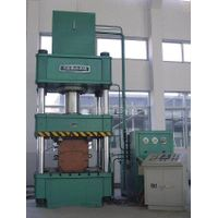 Special hydraulic press for burglarproof door
