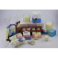 decorative holiday candles