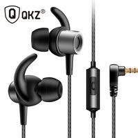 QKZ CK1 Zinc Alloy In-Ear Stereo Earbuds Earphone Super Bass Stereo Music Headset