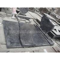 KYRSTONE bahama blue granite memorials gravestone headstone munuments