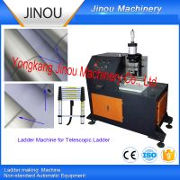 Ladder roll forming machine for telescopic ladders