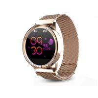 Fashion Automatic Heart Rate 24-Hour Precision Sleeping Monitoring IP67 Smart Watch For Ladies