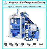 Semi-automatic cement block making machine QT4-30 thumbnail image