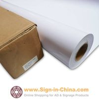 High Quality Bubble-free White Glue Self-adhesive Vinyl Film/Vehicle Wrap