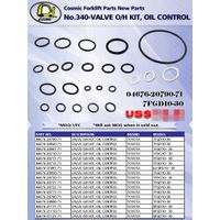 Cosmic Forklift Parts New Parts No.340-VALVE O/H KIT, OIL CONTROL