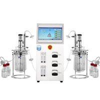 Borosilicate glass bioreactor
