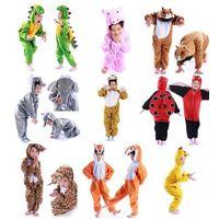 Hot Pajamas Kigurumi Children's Unisex Cosplay Animal Costume Onesie for Kids thumbnail image