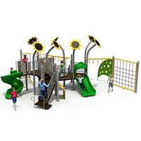 Outdoor Playground Slide LLDPE Material Outdoor Playground Set Kids Plastic Slide