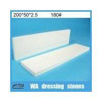 ceramic white alumina dressing stone WA abrasive block for diamond wheel