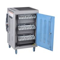 """Y630-BS, Smart AC Charging Cart for Chromebook/Laptop/Macbook/Surface Pro/Ipad up to 14"""", 30 slots thumbnail image"""