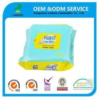 disposable soft cheap baby wipes baby Skin care baby wipes thumbnail image