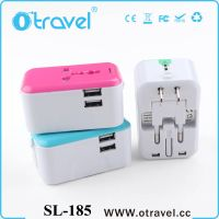 Otravel dual usb port 5V 2.4A gift item universal travel charger