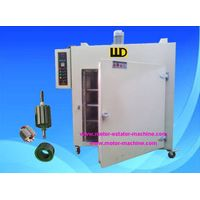 electric oven for coating armature stators