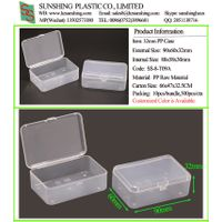 Customize OEM Small Plastic Storage Case Oral Dental Floss Case Wholesale Storage Packing Box thumbnail image