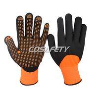 Foam nitrile 3/4 coated gloves