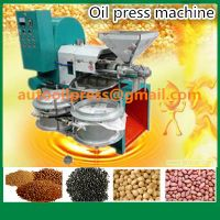 Soybean Corn Repeseed Sunflower Screw Oil Press Machine thumbnail image