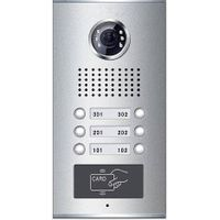 Video Door Phone for Apartment with card reader(6-button)