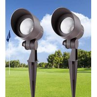 5w Outdoor RGB LED Landscape Lights - 12V Low Voltage Adjustable LED Pathway Landscape Lighting