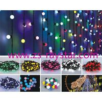 10m 96leds colorful 220v string lights from zhongshan