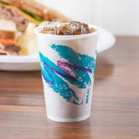 12oz Double PE Single Wall Paper Cup for Cold Drink