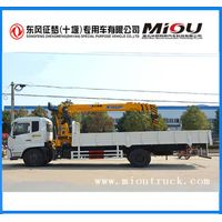 dongfeng 4x2 8 ton lifting weight truck crane DFC5160JSQBX5 for sale