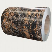 Steel coil with marble pattern design ppgi