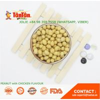 Coated PEANUT with CHICKEN FLAVOR Snack (Tan Tan Vietnam, Jolie 84983587558)