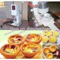 hot selling egg tart making machine 0086-15838059105