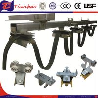 Trolley Rail Cable Festoon System C-Track