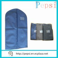65x110cm Garment bag/ Suit Cover with Oval-shaped Transparentn window in front Metallic eyelet