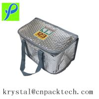High Quality Insulated Food Delivery Aluminium Foil Cooler Bag Lunch Bag