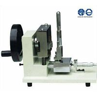 Manual plastic sample V notch cutting machine