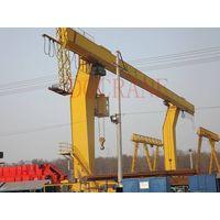 L type electric hoist single beam gantry crane