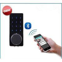 easy install wireless digital smart phone control bluetooth door lock thumbnail image