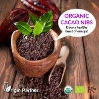 ORGANIC RAW & ROASTED CACAO NIBS