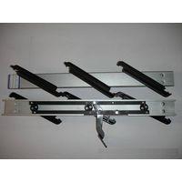 Aluminum Plastic Louver Frames with Double Bar louvre blades