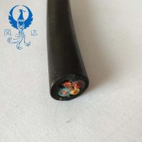 Rubber sheathed soft cable 3 main core 1 core