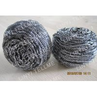 stainless steel pot scourer