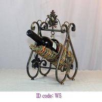 Wine Rack W5(Wagon design-swing shape)