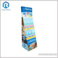 Paper Material Hook Display Stands For Kids Products Promotion thumbnail image