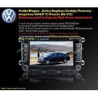 Special Car DVD for VolksWagen  Jetta Sagitar Caddy Touran magotan GOLF V Passat B6 etc.(2006-2010)