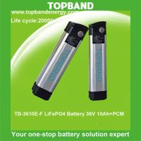 Electric Bicycle Battery 36V10Ah lifepo4 battery pack wholesale price