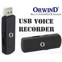 ORWIND AUDIO USB Voice Audio Recorder Pendrive Usb Flash Drive 8 Hours Digital USB Recorder