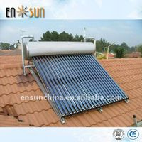 Intergrate high pressure solar water heater for home  bathing galvanized steel thumbnail image