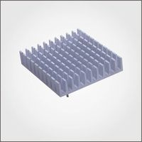 high performance aluminum profile fin heat sink