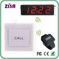 Wireless patient call push button , nurse watch pager , call bell button system ,