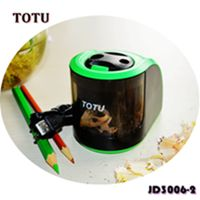 Desktop Electric Pencil Sharpener- Automatic Quiet Motor Safe for Kids School