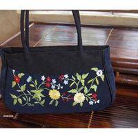 embroidery handbag